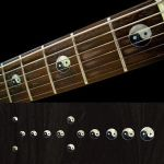 Yin & Yang Fret Markers Inlay Sticker Decal Guitar